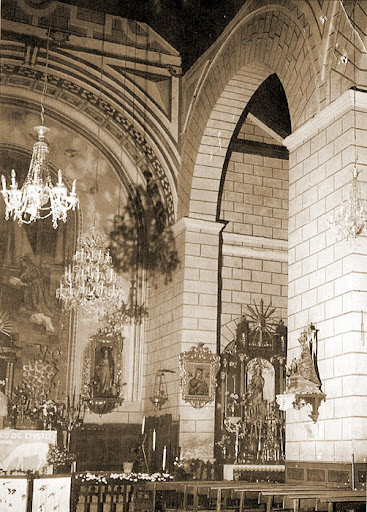 Altar de 1950 pintado por Juan Almagro