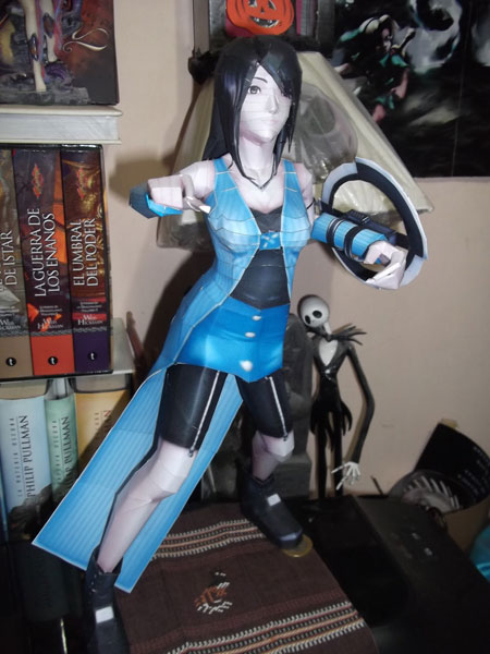Dissidia 012 Final Fantasy Rinoa Heartilly Papercraft