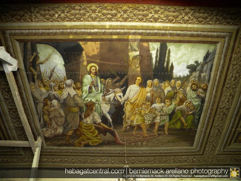 Jesus' triumphant entry to Jerusalem
