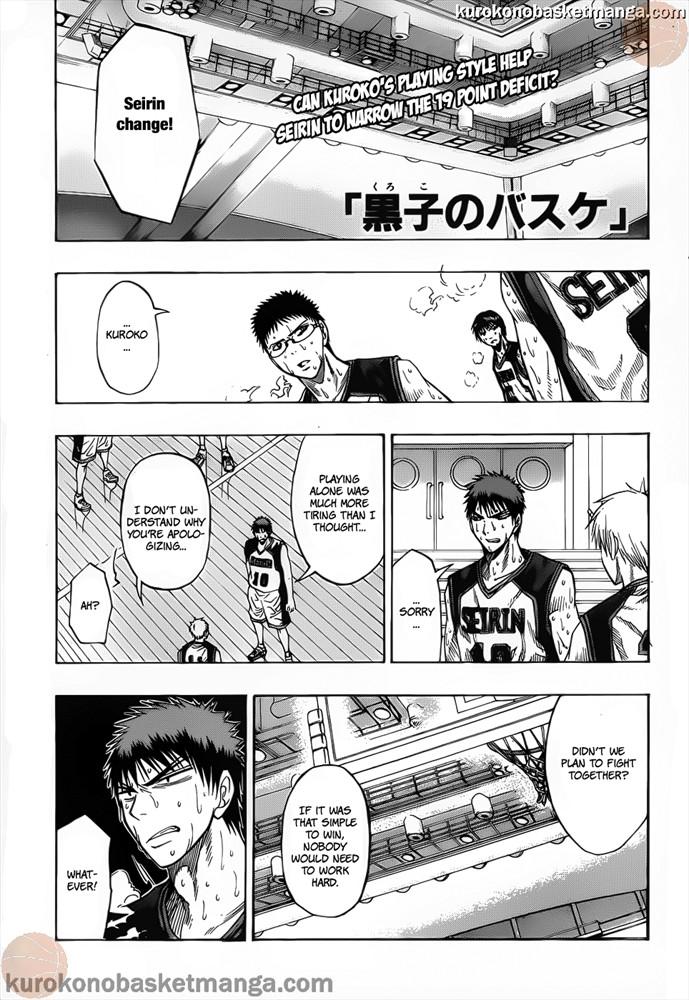 Kuroko no Basket Manga Chapter 50 - Image 01