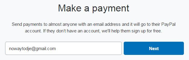 Cách chuyển tiền trong paypal không bị mất phí