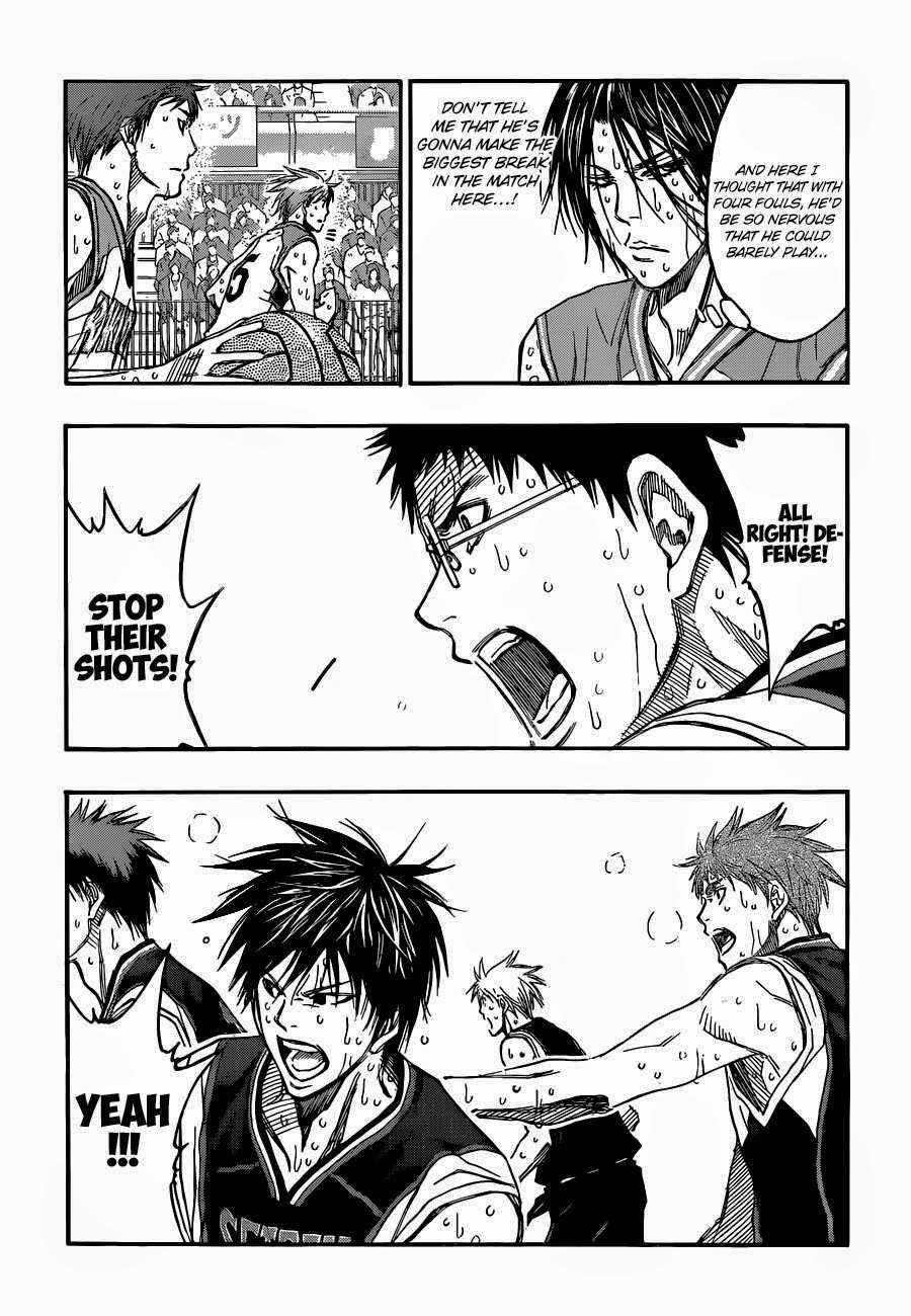Kuroko no Basket Manga Chapter 258 - Image 05