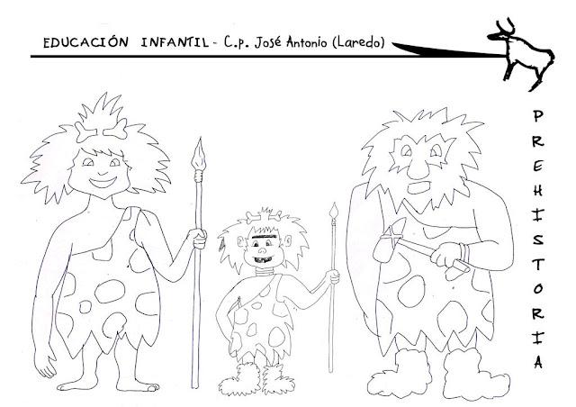 Dibujos De Prehistoria Para Ninos Para Colorear: Los Duendes Y Hadas De Ludi: Imágenes Para Trabajar La