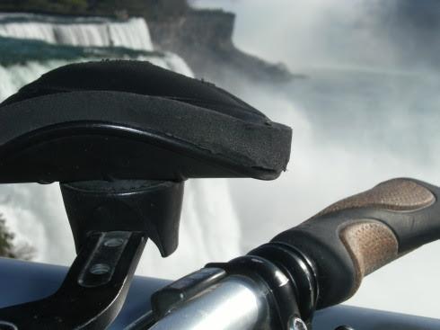 Triathlon-Lenker und Lenker-Griff Trekking- und Reiserad T 400 vsf fahrrad manufaktur, Niagara Falls, USA