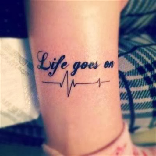 Quotes tattoo tech2gadget for Inspirational wrist tattoos