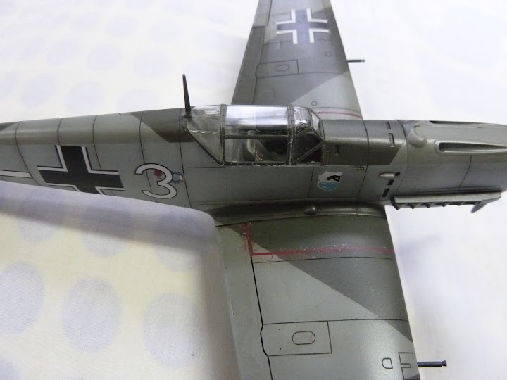 Bf-109 E-3 Tamiya 1/48 - Reforma pintura P1020665