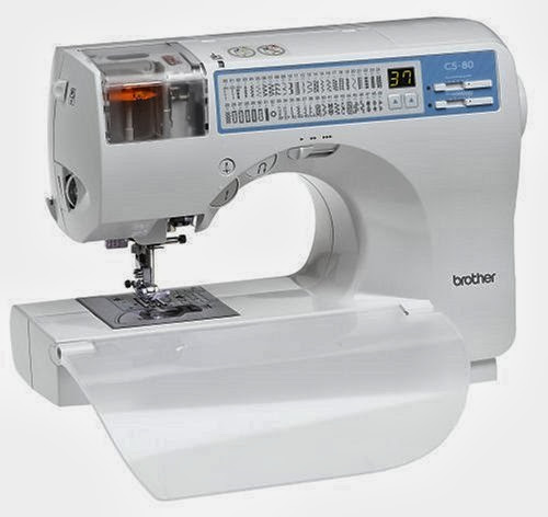 Brother CS-80 85-Stitch-Function Computerized Sewing Machine