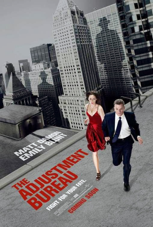 Poster Of The Adjustment Bureau (2011) Full Movie Hindi Dubbed Free Download Watch Online At alldownloads4u.com