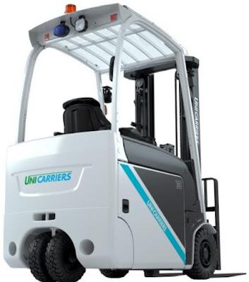 Xe nâng điện 3 bánh Unicarriers 1 - 2 tấn