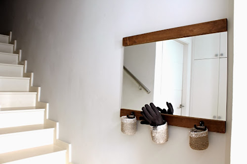 Not 2 late to craft: Mirall DIY pel rebedor  / DIY mirror for the entryway