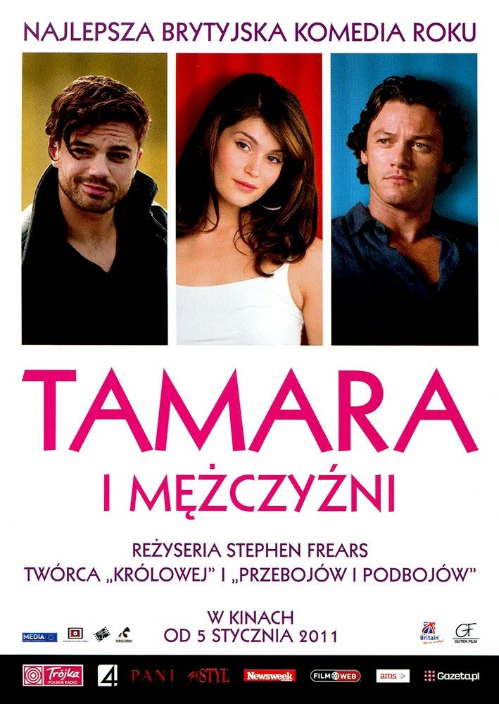 Ulotka filmu 'Tamara i Mężczyźni (przód)'