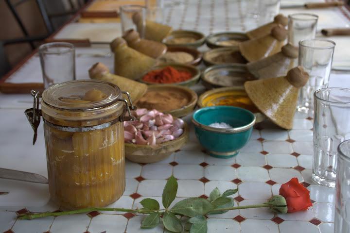 Marrokansk madlavning hos Lalla Nezha