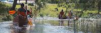 Kanuumatkajad Amme jõel