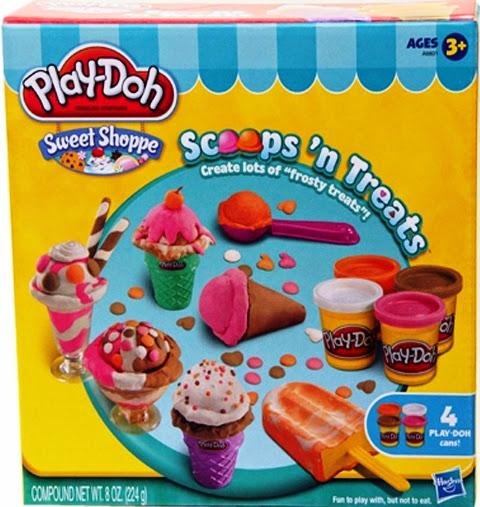 Chơi với Bộ làm kem sắc màu Play-Doh