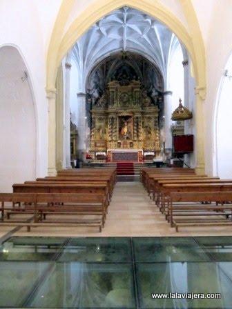 Interior de la Ermita del Cristo, Labastida
