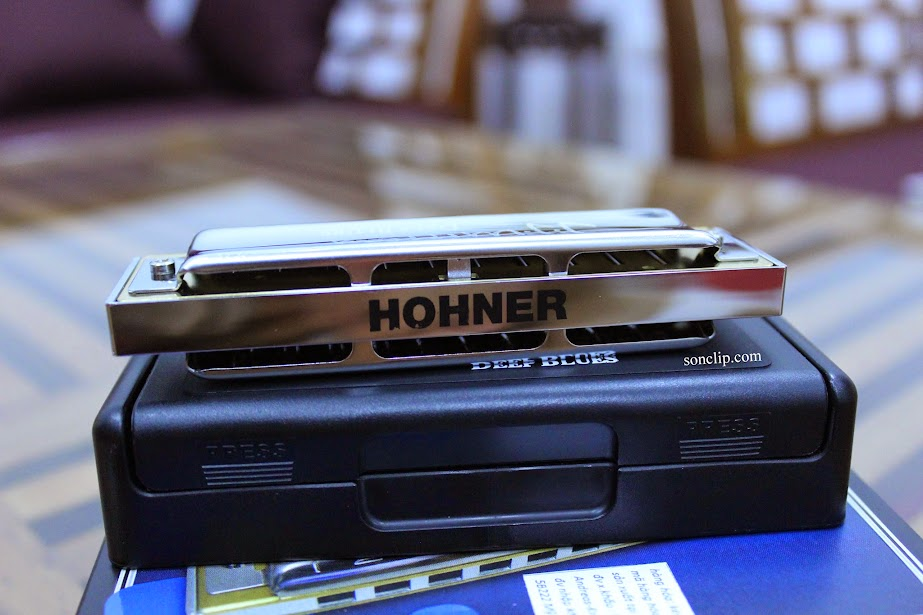 Kèn Harmonica - Hohner J.J Milteau Deep Blues MS (key C)
