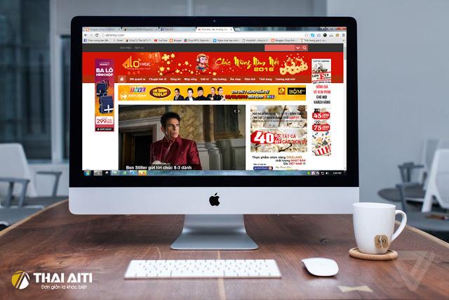 Công ty ThaiAiTi ký hợp đồng thiết kế web báo Alotintuc.com