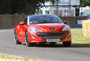 RCZ take on coupe market
