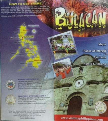 Philippine Travel Brochure Sample Joshymomo Org