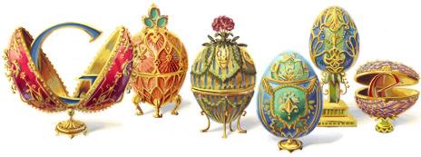 Google Doodle Peter Carl Fabergé