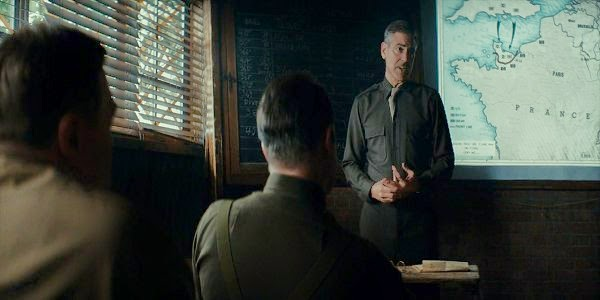 Screen Shot Of Hollywood Movie The Monuments Men (2014) Download And Watch Online Free at Alldownloads4u.Com