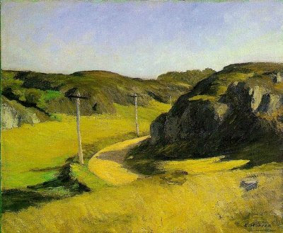 Edward Hopper, Road in Maine