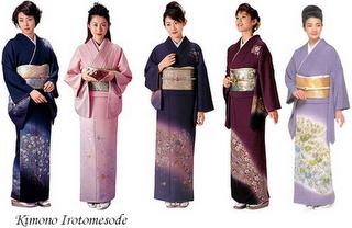 Hōmongi Es el kimono que se usa en ocasiones semi,formales (visitas o fiestas). Puede ser de cualquier color. El largo de las mangas varía según el estado