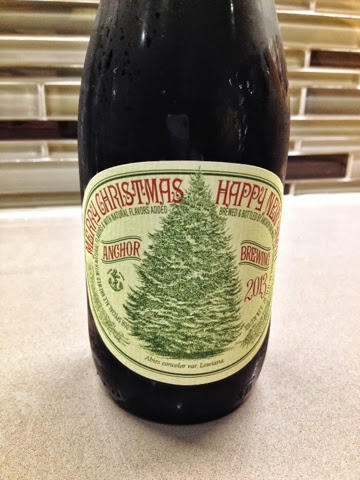2013 Merry Christmas Happy New Year Our Special Ale By Anchor Brewing Company San Francisco Ca
