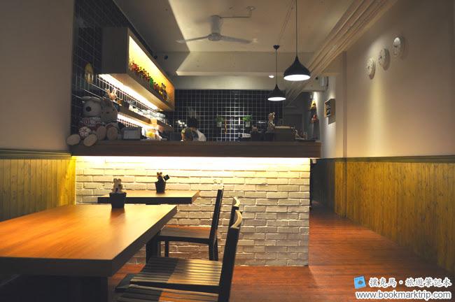 豆子咖啡一樓服務櫃檯