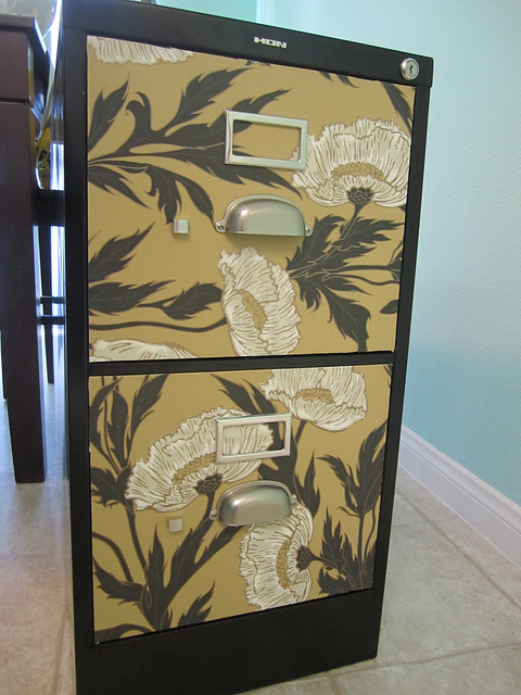 dress up a file cabinet 2