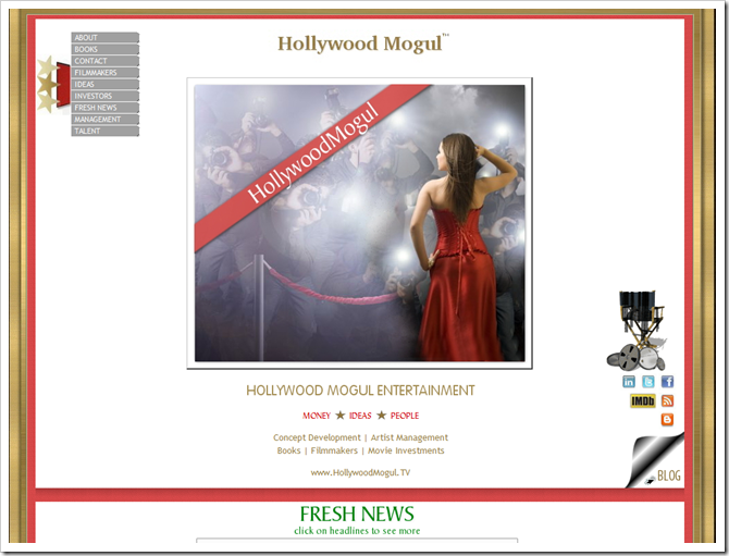 go to HOLLYWOOD MOGUL website