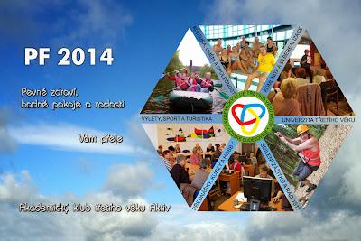 Zdraví, štěstí, láskyplnost a vše dobré v roce 2014 Vám přeje Akademický klub třetího věku Aktiv