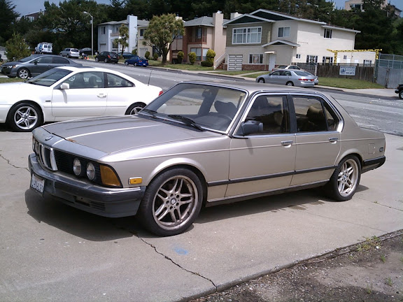 1985 BMW 745i FACTORY TURBO Whole Or Parts