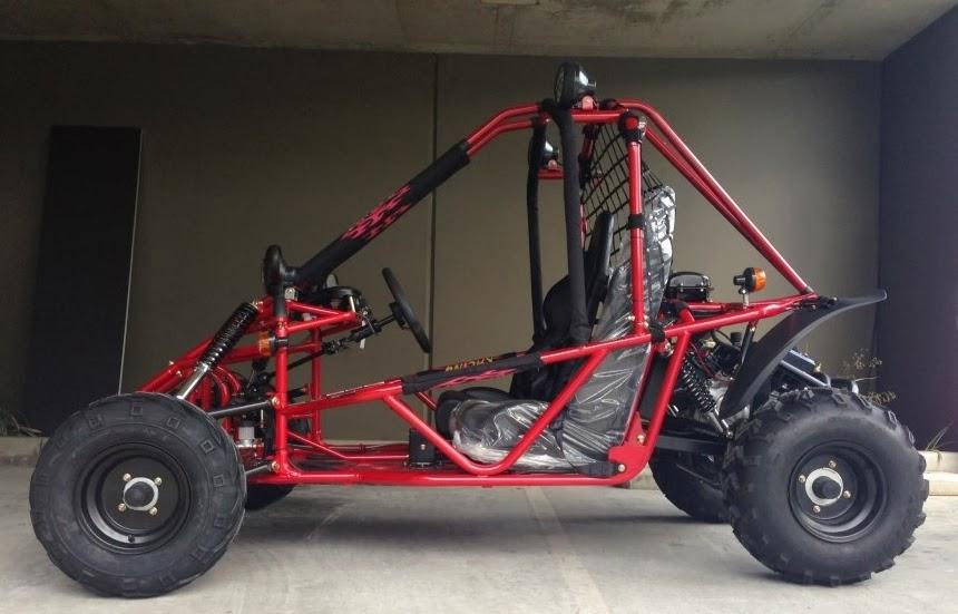 150cc GK Kandi Dune Buggy Red