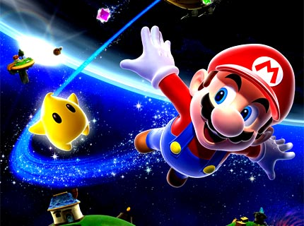 Image de présentation de l'univers Mario Galaxy