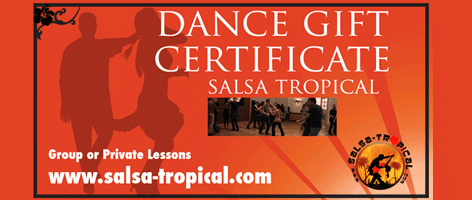 Image of Salsa-tropical Dance Gift Voucher