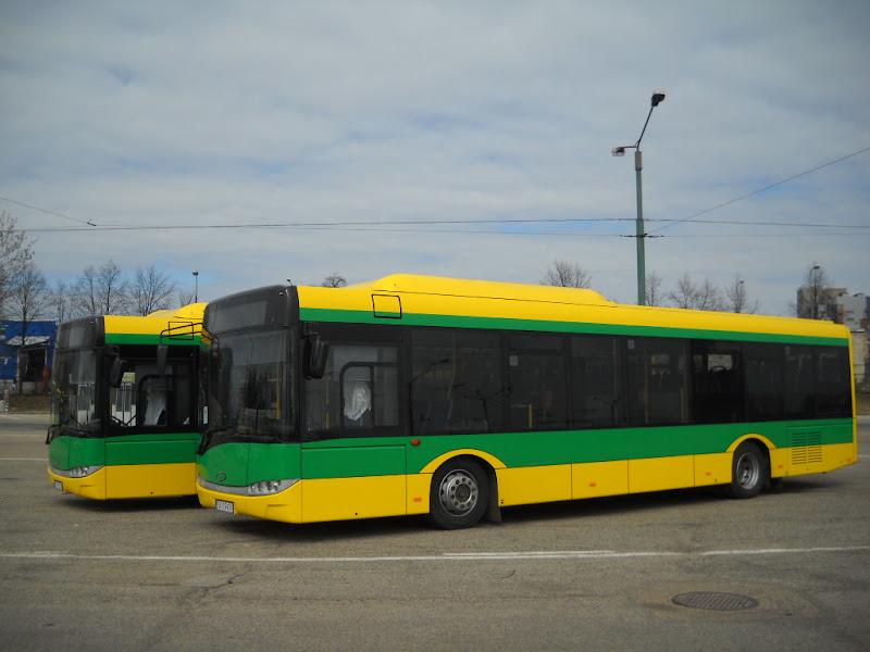 PKM Tychy - duża dostawa autobusów CNG marki Solaris