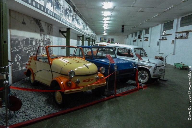 Автомобили - мотоколяски СМЗ