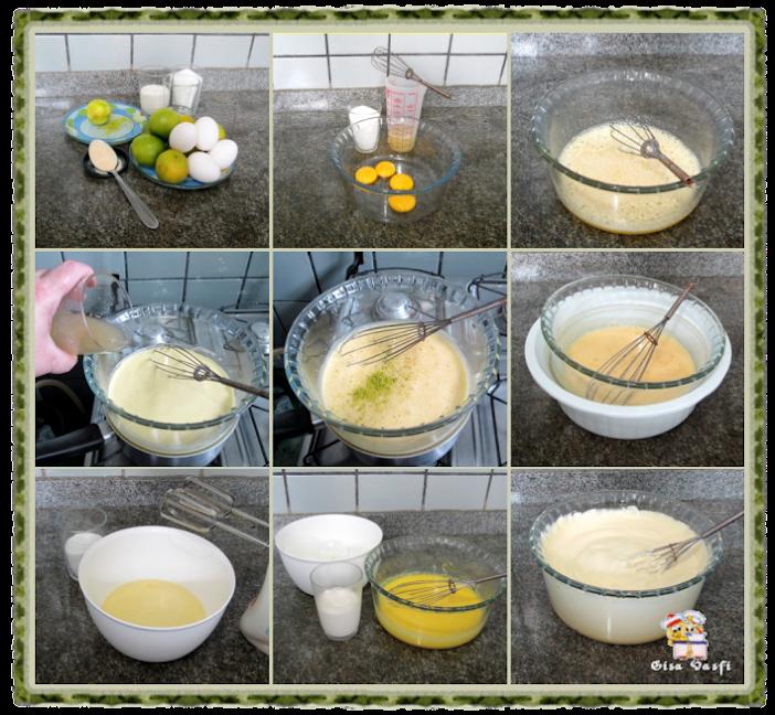 Torta chifon de limão 3