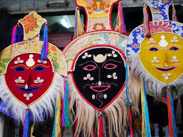 達人帶路-環遊世界-尼泊爾-西藏面具