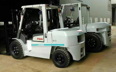 Xe nâng dầu diesel TCM 5 tấn Nhật Bản