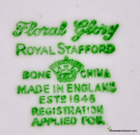 Royal Stafford (Thomas Poole) Backstamp