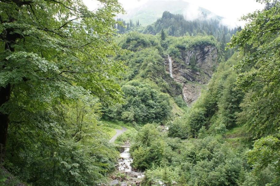 Aufstieg zur Biberacher Hütte