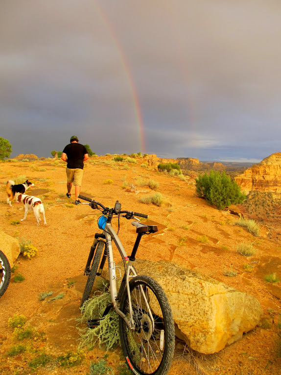 Rainbow at the Wedge Overlook