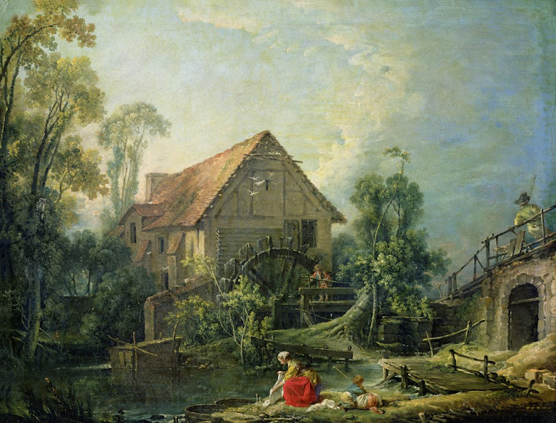 Francois Boucher - The Mill