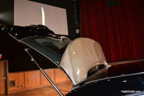 US Fiat 500 Abarth Rear Wing