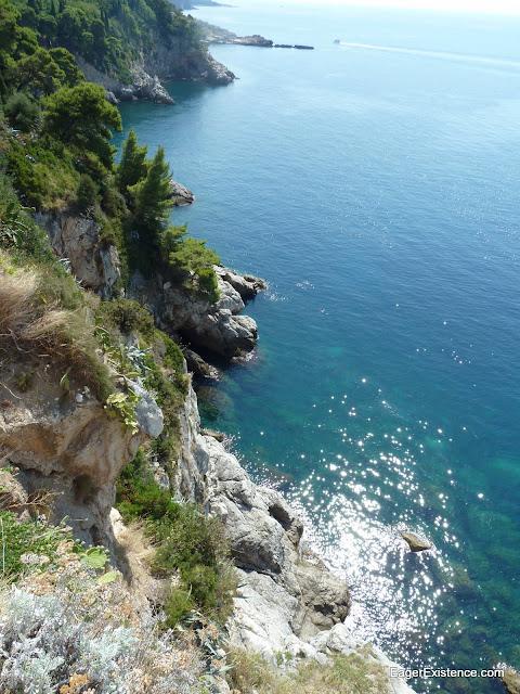 beautiful cliff-tops, dubrovnik, croatia