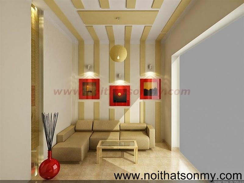 Mẫu thiết kế nội thất phòng khách 337