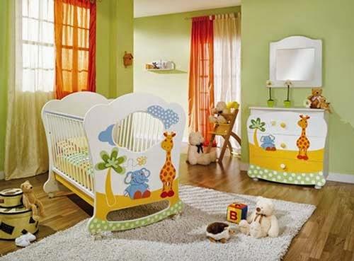 C mo decorar el cuarto de mi beb vivir mejor - Decorar paredes habitacion bebe ...