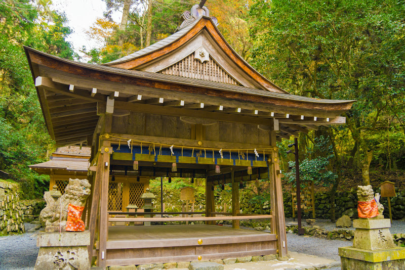 京都 貴船神社 奥宮 写真3